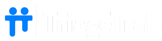 TriageTrak Logo White